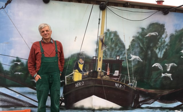 Lothar Buckow fängt in der Elbe kaum mehr Stint.