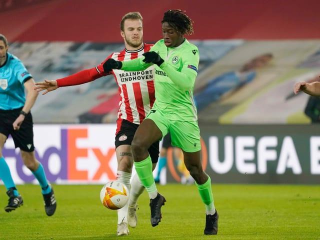 Kaly Sene Geht neu für den FCB auf Torejagd