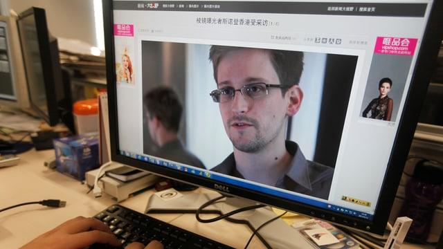 Ex-US-Geheimdienstmitarbeiter Edward Snowden.