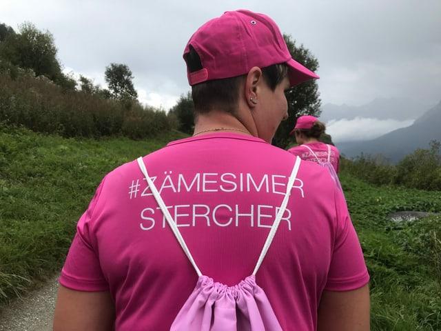 Impressiuns dal Pink Ribbon Walk.