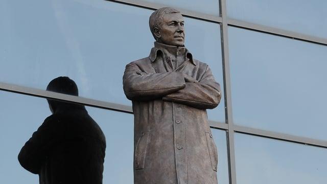 Statue von Alex Ferguson