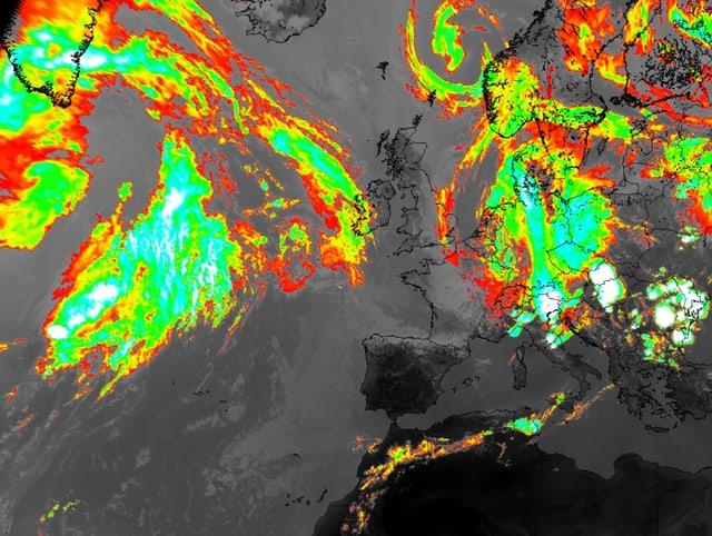 Ifrarot Satelittenbild