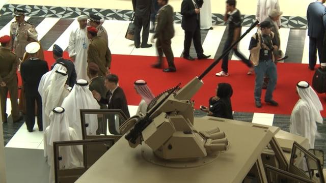 Waffenmesse in Abu Dhabi