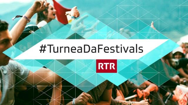Logo da la turnea da festivals