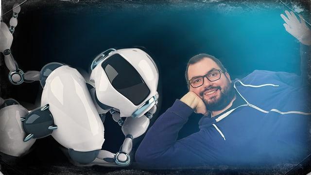 Roboter vs. Luca