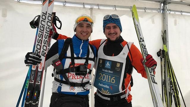 Andreas Wieland e Serafin Beer