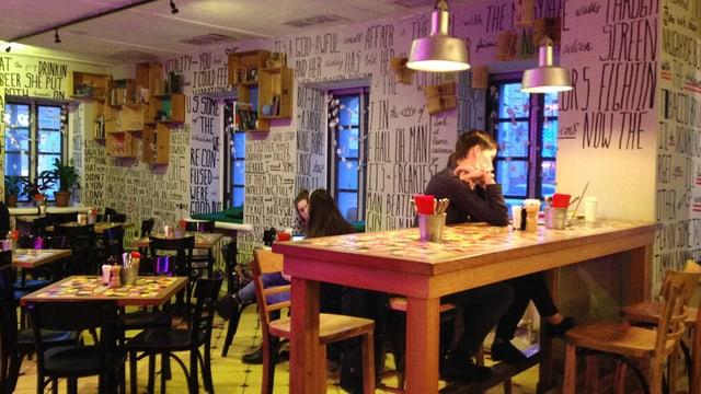 Einer der Lieblingsplätze von Julie in Moskau: Das Café Junost