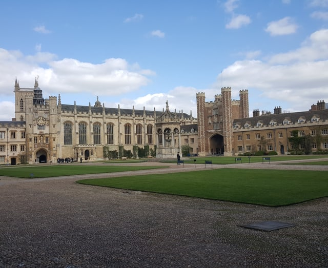 Innenhof der Cambridge University