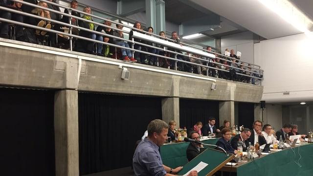 Einwohnerrat Baden, Budgetdebatte