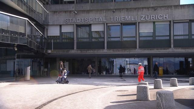 Eingang Triemlispital