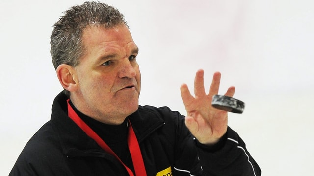Nationaltrainer Sean Simpson