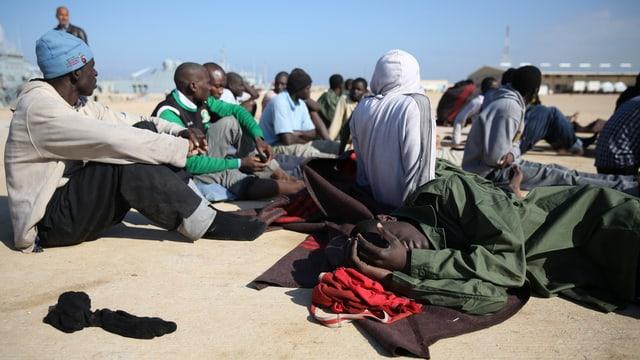 Flüchtlinge haben keine Priorität