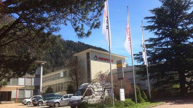 Firmengebäude der Dätwyler Gruppe in Altdorf