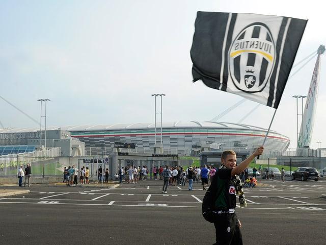 Juve-Stadion 2011 nach der Eröffnung