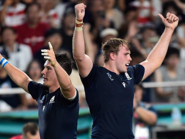 Schottland gewinnt gegen Samoa.