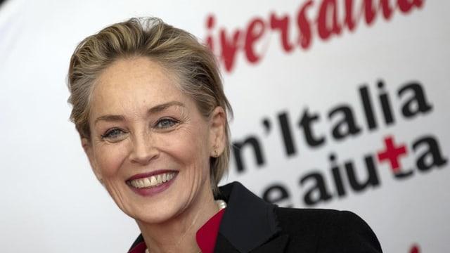 purtret da Sharon Stone, actura da film