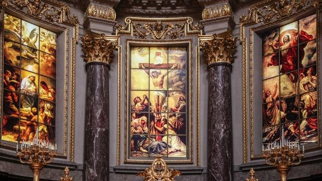 Von A wie Altar bis zu P wie Papst