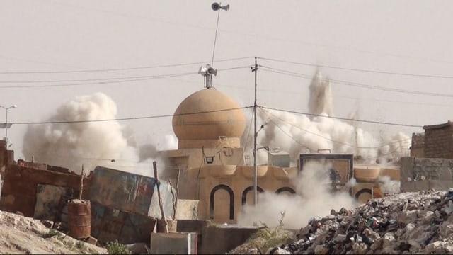 Zerstörte Mosche