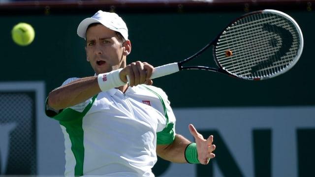 Novak Djokovic hat in diesem Jahr noch keine Partie verloren.
