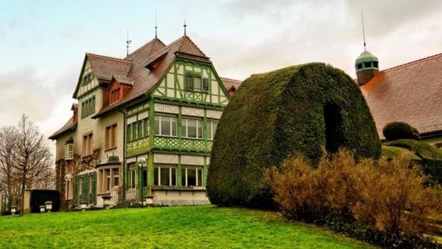Museum Langmatt: Schönes altes Gebäude in Parkanlage