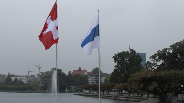 Bild der Stadt Zug.