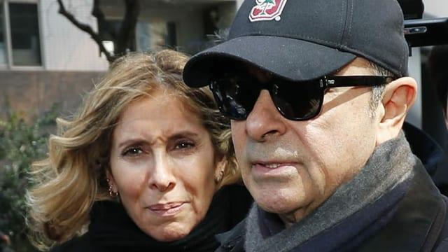 Haftbefehl gegen Ehefrau von Ghosn