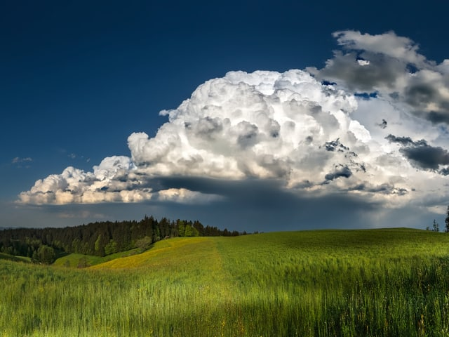Panorama Nach Unwetter Im Tessin Strasse Ins Valle Malvaglia