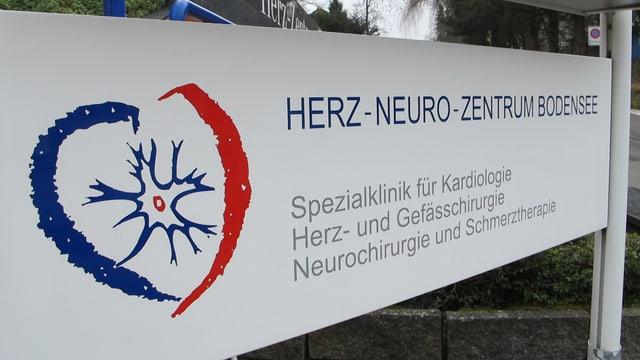 Tafel Herz-Neuro-Zentrum