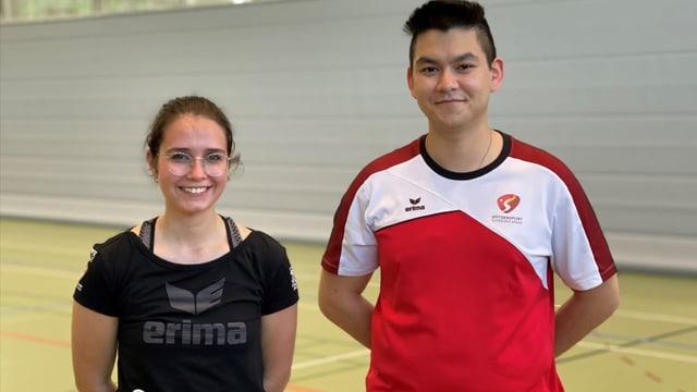 Recruta da sport: Annina Tomaschett ed il trenament en halla