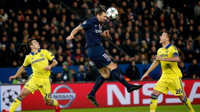 Il gieu tranter Parist Saint Germain e Chelsea.