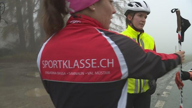 """Giacca da sport cun si """"sportklasse.ch"""""""