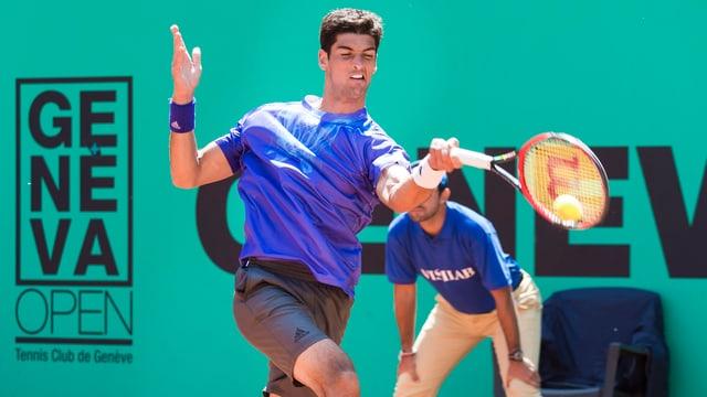 Thomaz Bellucci hat nach zwei Siegen in Gstaad auch in Genf triumphiert.