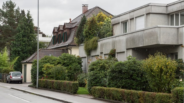 Wohnblock in Zollikon
