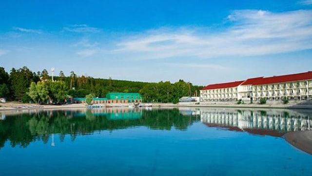 Das Hotel der Nationalmannschaft während der WM in Russland.