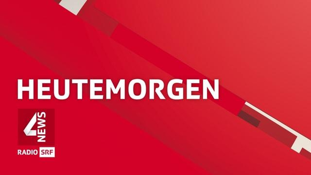 Visual der Sendung «HeuteMorgen»