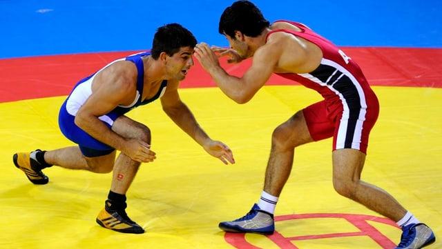 Ringen wird auch in Zukunft bei den Olympischen Spielen zu sehen sein.