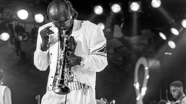 il trumbettist Miles Davis