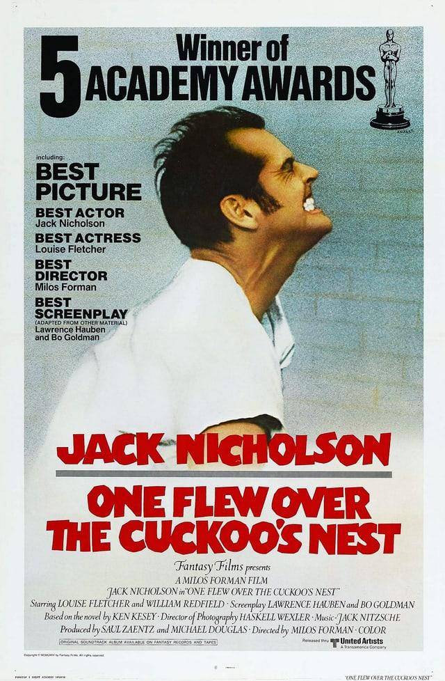 Filmplakat von one flew over the cuckoo's nest
