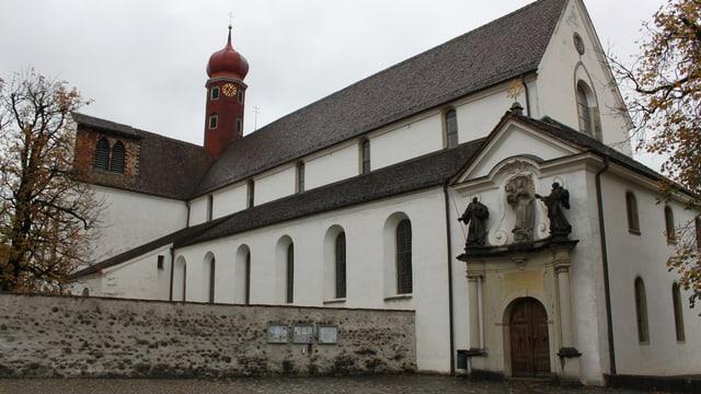 Das Kloster Wettingen von aussen
