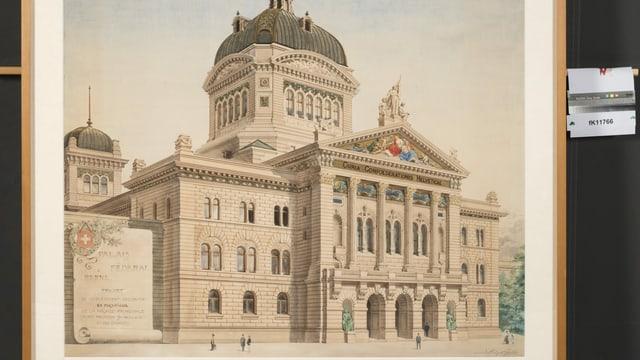 Zeichnung Bundeshaus