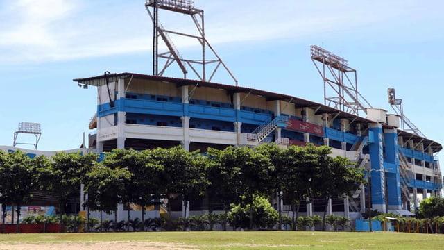 Ein Stadion in Honduras
