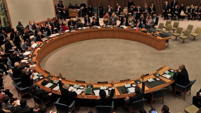 Der UNO-Sicherheitsrat.
