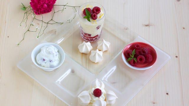 Dessert-Teller.