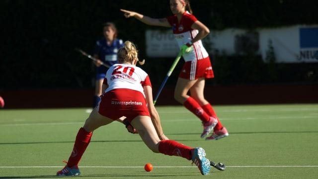 Spielerinnen in Action