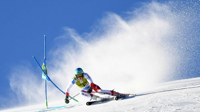 Wendy Holdener al slalom gigant.