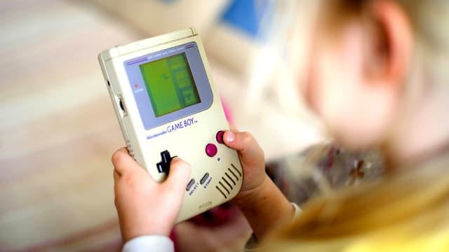 Der Computerspiel-Klassiker der 80er- und 90er-Jahre: Tetris auf dem Gameboy.