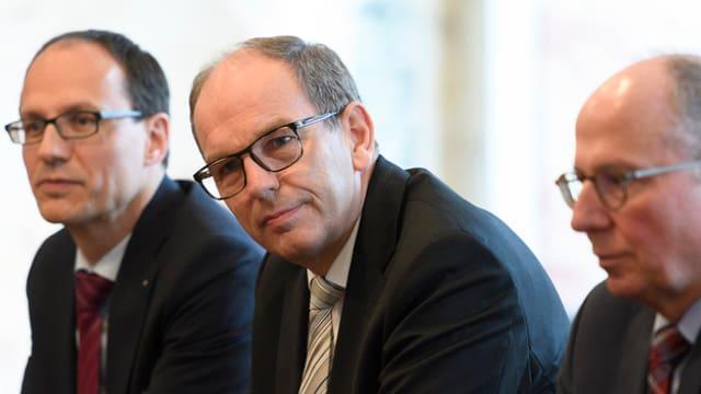 Der frischgewählte St. Galler Regierungsrat Bruno Damann