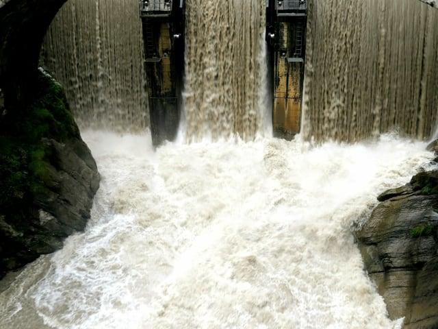 Hochwasser Simme