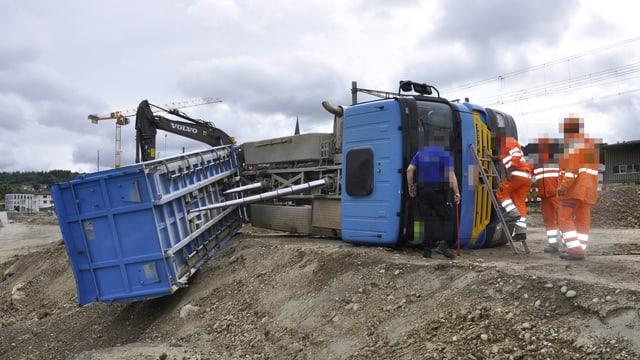 Arbeitsunfall in Gretzenbach