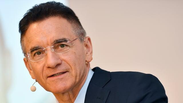 Portrait von Yves Serra, CEO des Industriekonzerns Georg Fischer.